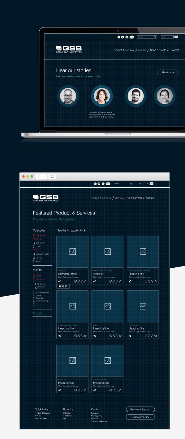 web design wireframe proposal 1
