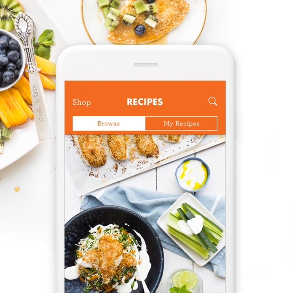 Cooking Recipe App Design